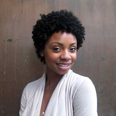 Short-Interesting-Dark-Thick-Dreads Short Hairstyles for Black Women