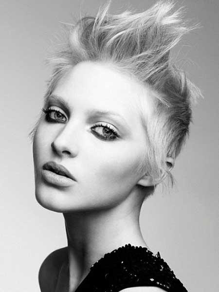 Short-Original-Asymmetrical-Hairstyle Short Trendy Hairstyles for Women