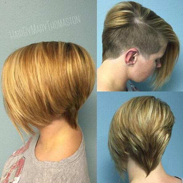 Short-Shaved-Hairstyle Awesome Undercut Hairstyles for Girls
