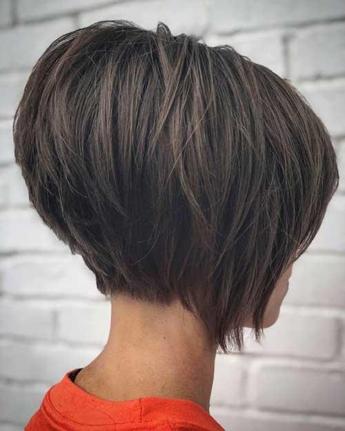 Short-Stacked-Bob Latest Short Bob Haircuts for Women