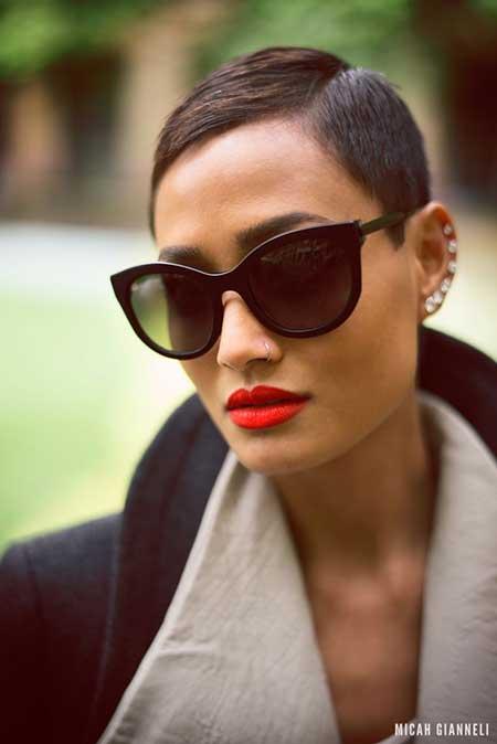 Short-Trendy-Extremely-Short-Hair Short Trendy Hairstyles for Women