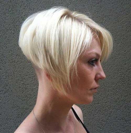 Super-Blonde-Bob-Hairstyle Latest Short Bob Haircuts for Women
