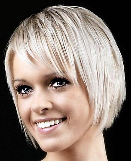 Super-cute-short-haircut Very Short Haircuts with Bangs for Women