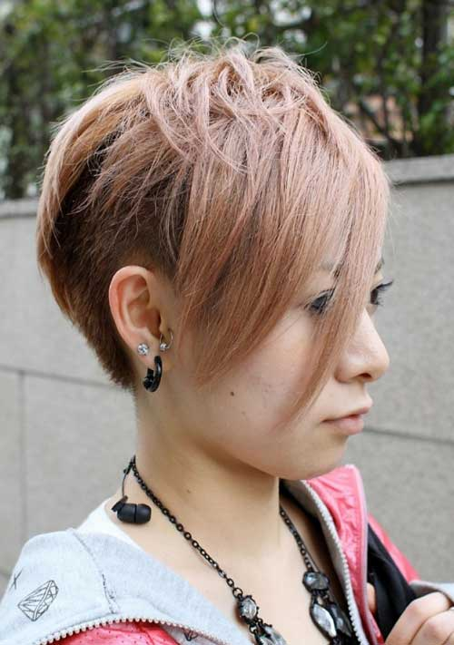 Trendy-Super-Short-Hair-11 Best Pics of Layered Short Hair for Round Face