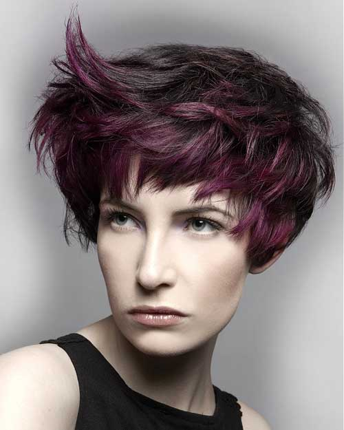 Trendy-Super-Short-Hair-14 Best Pics of Layered Short Hair for Round Face