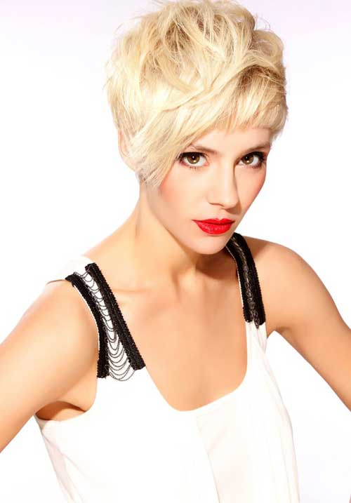 Trendy-Super-Short-Hair-2 Best Pics of Layered Short Hair for Round Face