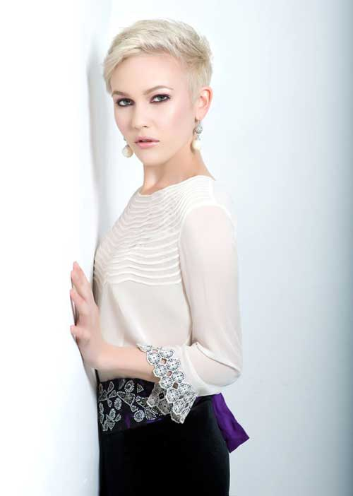 Trendy-Super-Short-Hair Best Pics of Layered Short Hair for Round Face