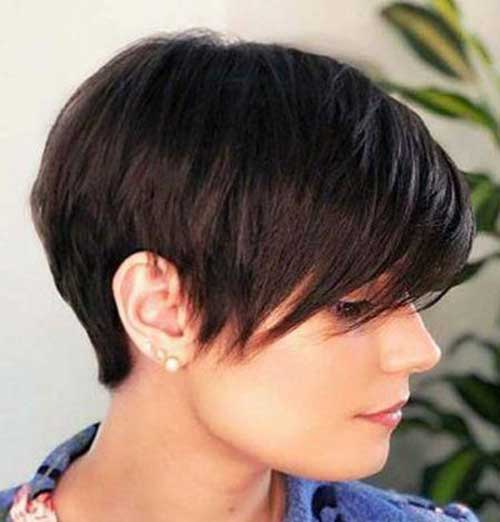 V-Cut-Layers Latest Short Haircuts for Women - Short Hairstyle