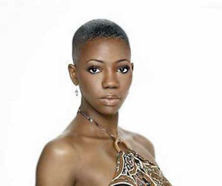 Very-Short-Simple-Interesting-Look Short Hairstyles for Black Women