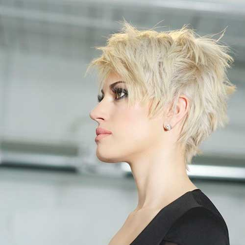 19.Short-Hair-Color-Trend-2016 Nice Short Natural Curly Hairstyles