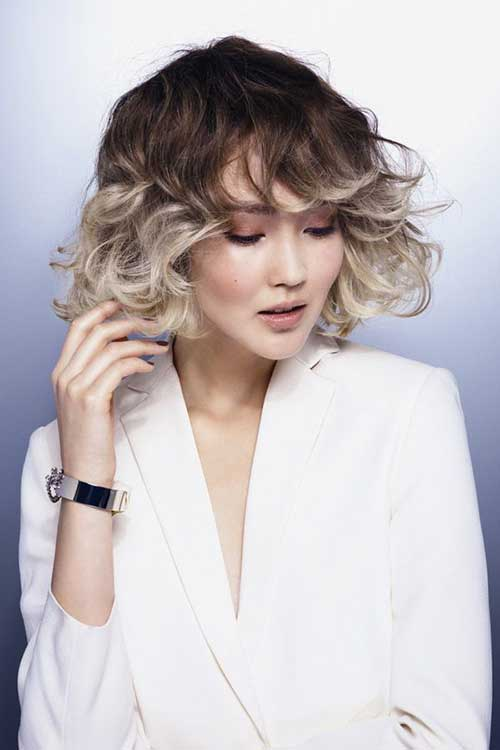 2015-Short-Hair-Color-Trend Nice Short Natural Curly Hairstyles