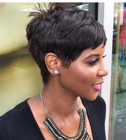 25.Short-Pixie-for-Black-Women Latest Short Pixie Cuts for Black Women