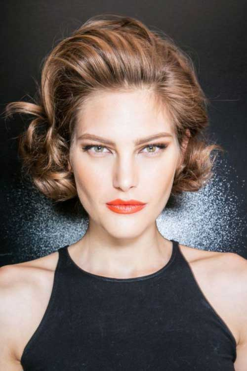 8.Short-Hair-Color-Trend-2016 Nice Short Natural Curly Hairstyles