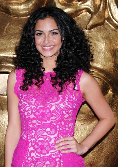 Anna-Shaffer-Long-Black-Curly-Hairstyle-for-Summer Popular Haircuts for Summer Hairstyles 2019