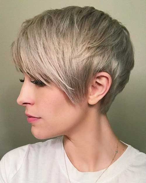 Ash-Blonde-Hair-Color-for-Short-Hair Chic Ideas About Short Ash Blonde Hairstyles