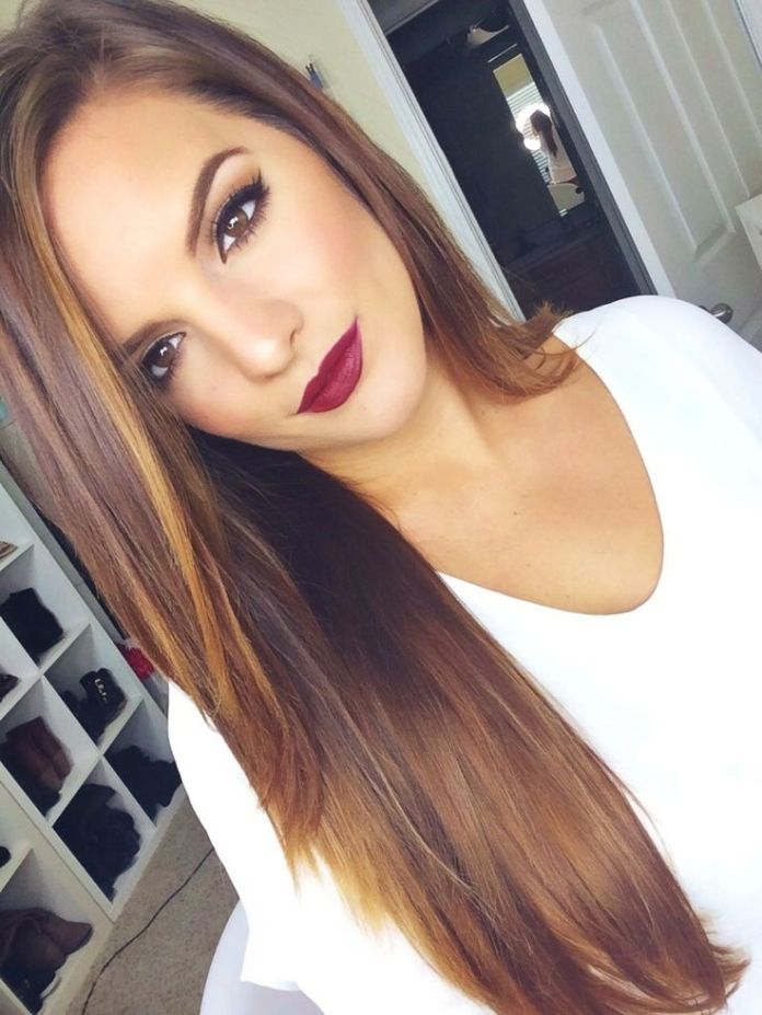 Beautiful-Long-Straight-Hairstyle Alluring Straight Hairstyles for 2019 (Short, Medium & Long Hair)