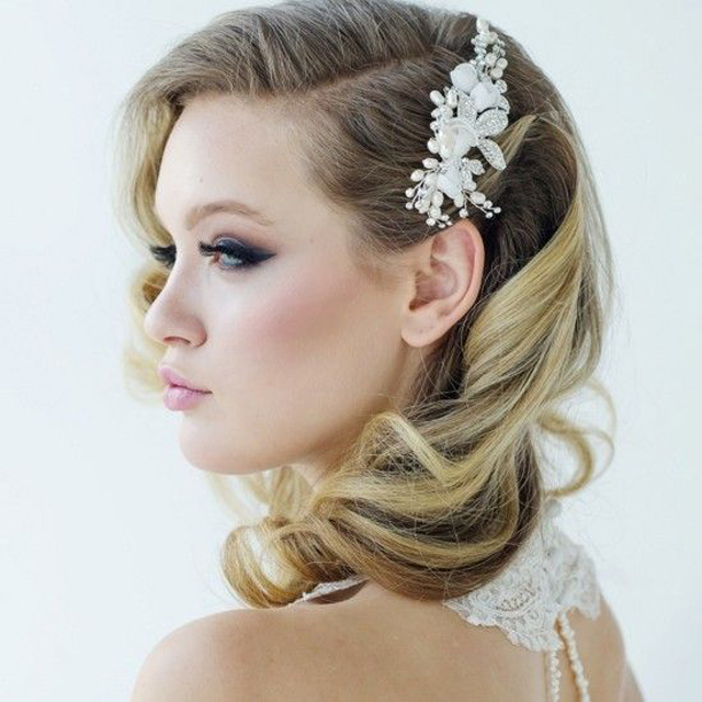 Beautiful-retro-hairstyle-for-wedding Elegant Retro Hairstyles 2019 – Vintage Hairstyles for Women