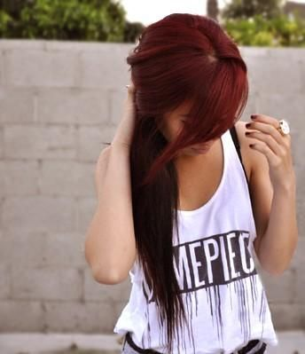 Best-Hairstyles-for-Red-Hair-Side-swept-Bangs Best Hairstyles for Red Hair 2019