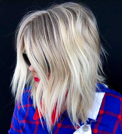 Blonde-Hair-2 Best Short Hairstyle Ideas 2019