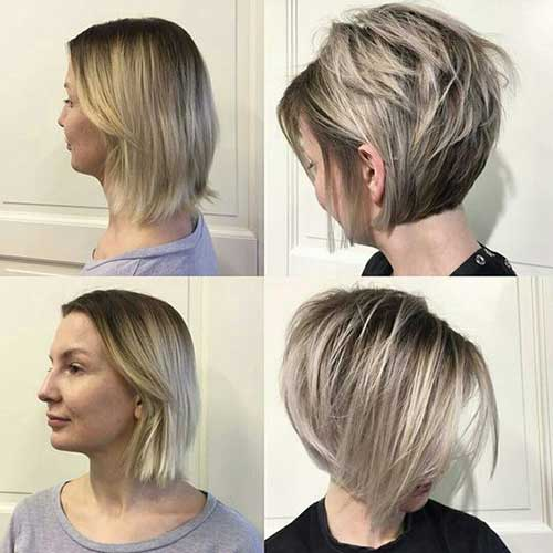 Chic-Hair-Cut Chic Ideas About Short Ash Blonde Hairstyles