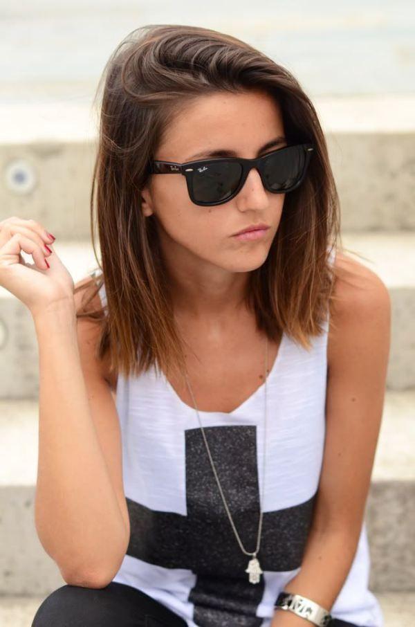 Cool-Medium-Straight-Hairstyle Alluring Straight Hairstyles for 2019 (Short, Medium & Long Hair)