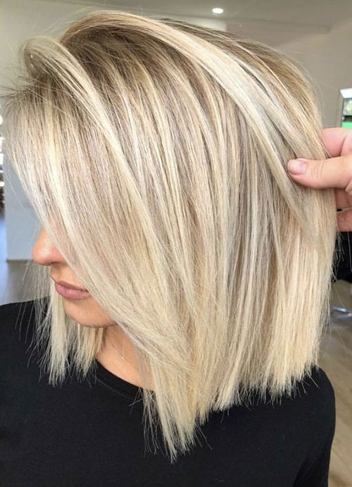 Cute-Blonde-Hairstyle Best Pics of Short Straight Blonde Hair