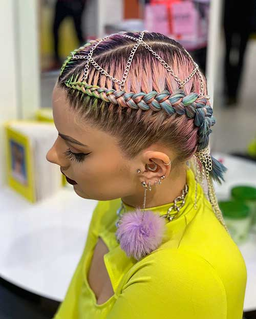 Cute-Braid-Hair Best Cute Short Haircuts 2019