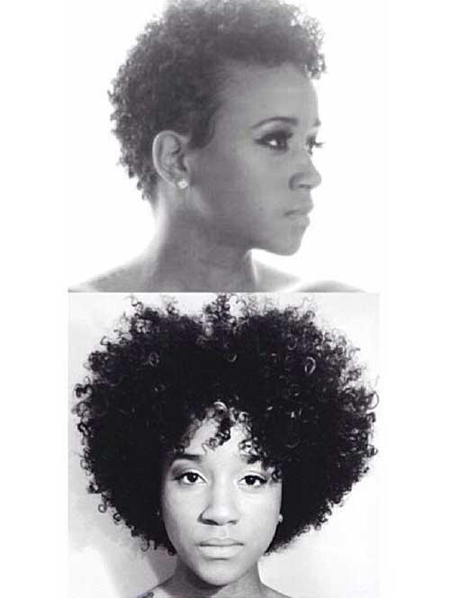 Cute-Short-Natural-Hair-for-Girls Cute Short Natural Hairstyles