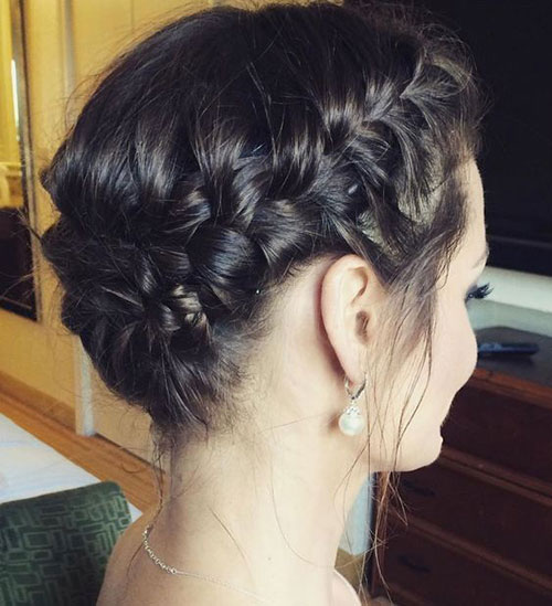 Cute-and-Easy-Updo-Hairstyle Ideas of Cute Easy Hairstyles for Short Hair