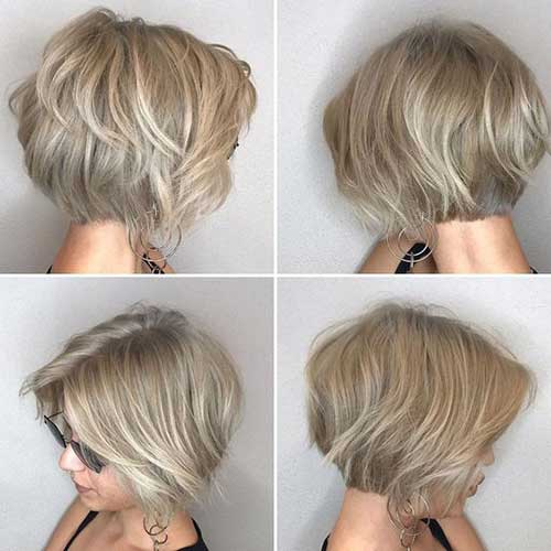 Easy-To-Style-Haircut Chic Ideas About Short Ash Blonde Hairstyles