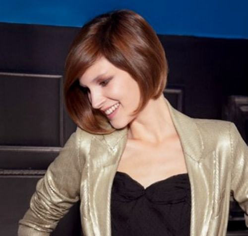 Go-round Hypnotic Short Hairstyles for Women with Square Faces