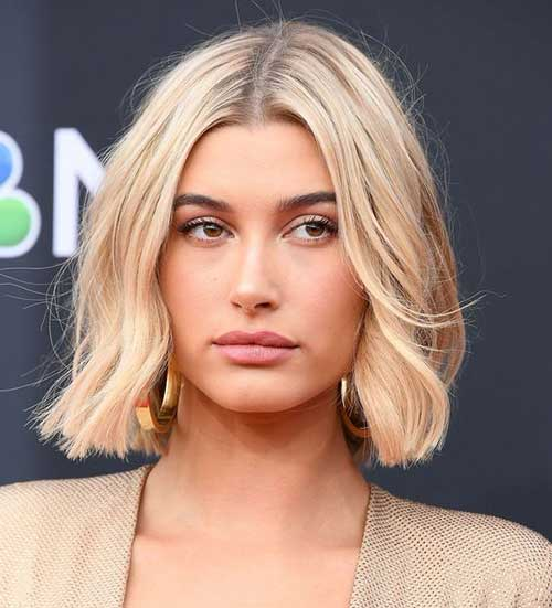 Hailey-Baldwin-Soft-Waves-Hair Hailey Baldwin Short Hair 2019