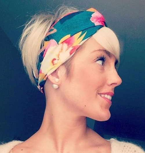Headbands-for-Pixie Best Sassy Pixie Cuts 2019