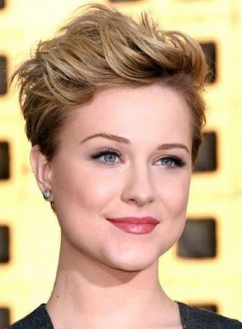 High-pixie Hypnotic Short Hairstyles for Women with Square Faces