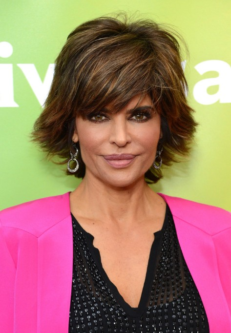 Lisa-Rinna-Layered-Razor-Cut-for-Summer Popular Haircuts for Summer Hairstyles 2019