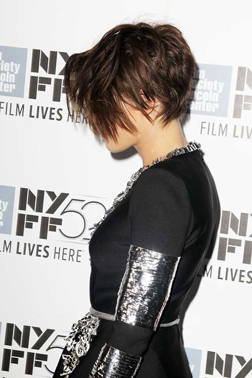 Long-Asymmetrical-Messy-Pixie-Hair-2015 New Hairstyles for Short Hair