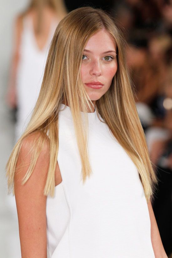 Long-Straight-Blonde-Hair Most Charming Blonde Hairstyles for 2019