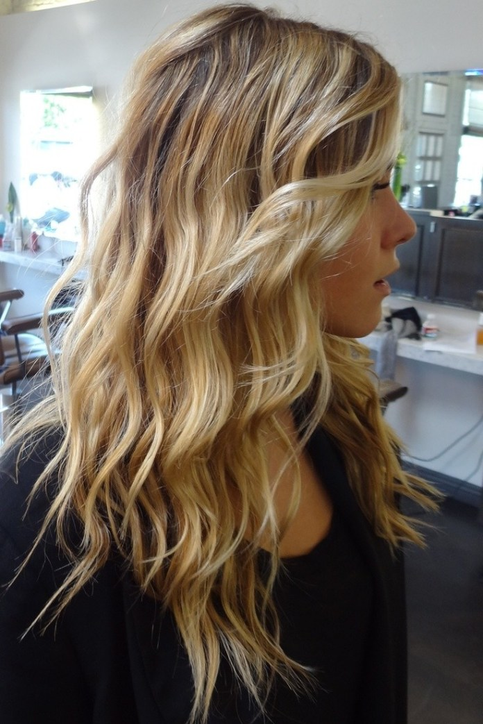 Long-Wavy-Hairstyle-for-Ombre-Hair Beautiful Hairstyles for Thin Hair 2019