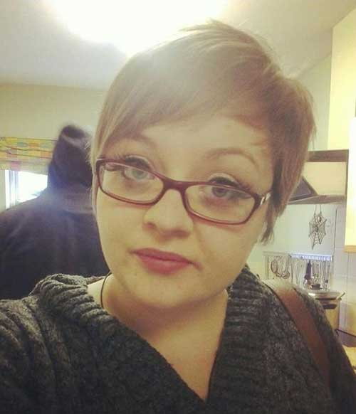 Lovely-Pixie Pretty Short Haircuts for Chubby Round Face