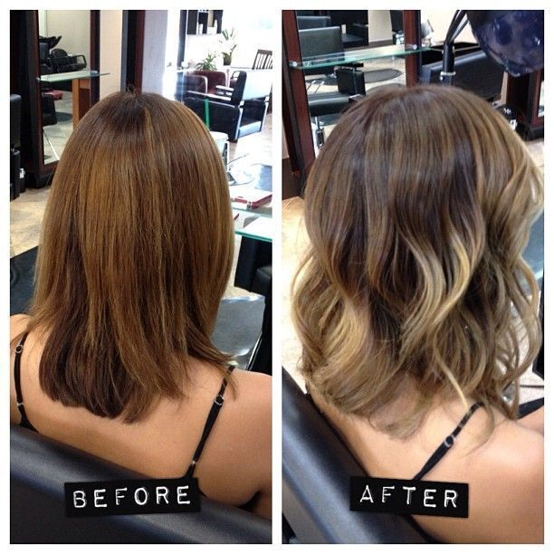 Medium-Layered-Hairstyle-for-Ombre-Hair Wonderful Medium Hairstyles for 2019