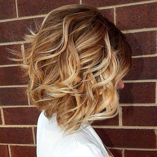 Messy-Wavy-Bob-Hairstyle Wonderful Medium Hairstyles for 2019