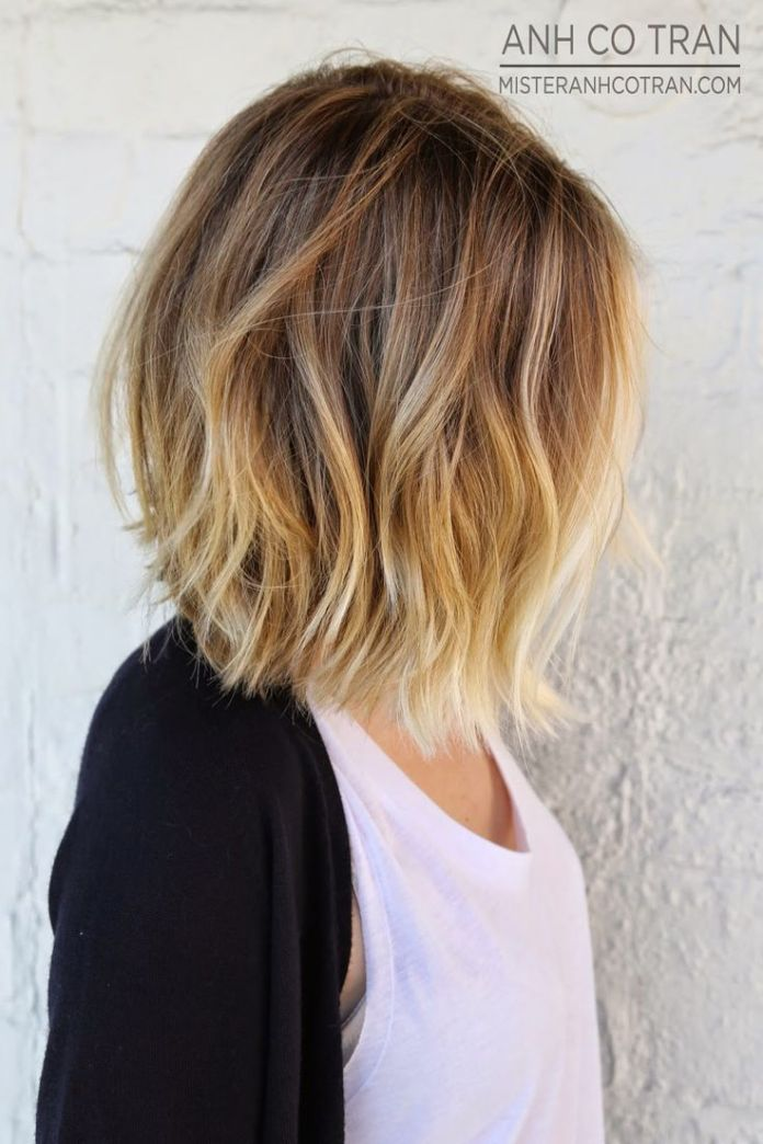 Mid-length-Wavy-Bob-Hairstyle Alluring Wavy Hairstyles for 2019