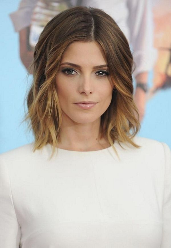 Mid-length-Wavy-Hairstyle-for-Ombre-Hair Glamorous Wavy Hairstyles