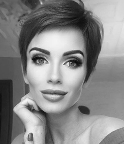 Modern-Short-Haircut Best Sassy Pixie Cuts 2019