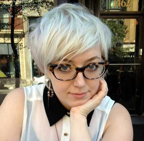 Perfect-Long-Pixie-Haircut-for-Plus-Size-Ladies Pretty Short Haircuts for Chubby Round Face