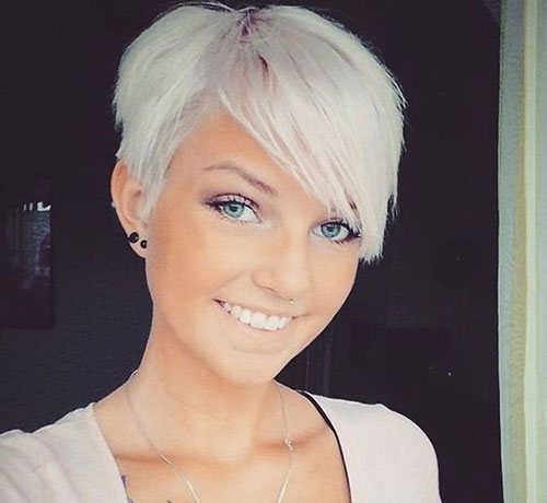 Pixie-Bangs Best Pics of Short Straight Blonde Hair