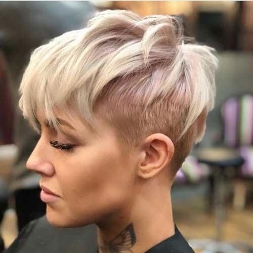 Pixie-Cut-Long-Top Best Sassy Pixie Cuts 2019