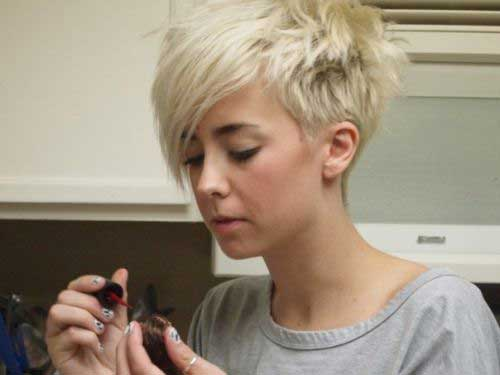 Pixie-Cut-with-Bangs Most Beloved Short Haircuts with Bangs