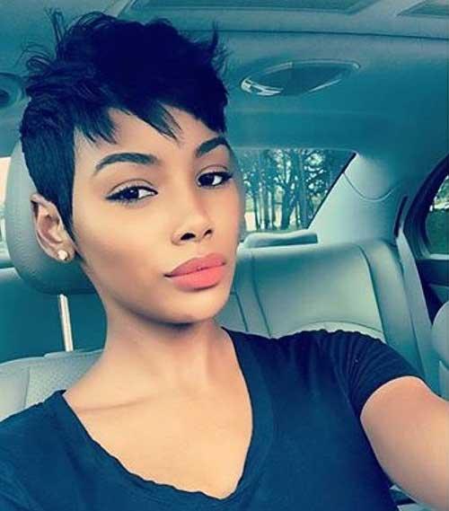 Pixie-Haircut-for-Black-Girls Latest Short Pixie Cuts for Black Women