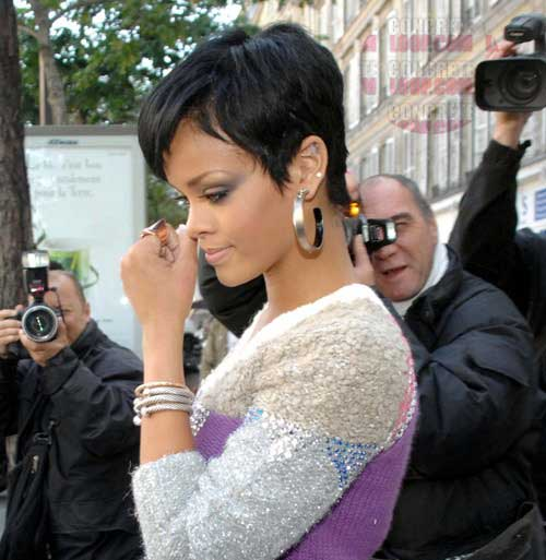 Rihanna-Pixie-Cut Trendy Short Hairstyles You Should See